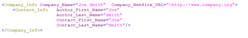 slim XML example